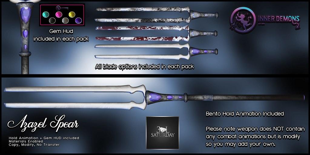 {ID} Azazel Spear 30L Sat. Advert