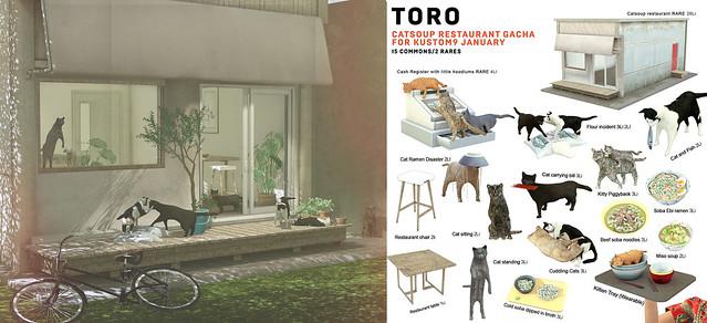 Toro for Kustom9 January