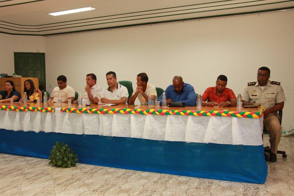 Composição da Mesa da Cerimônia do anúncio do pacote de obras do município de Alcobaça (2)