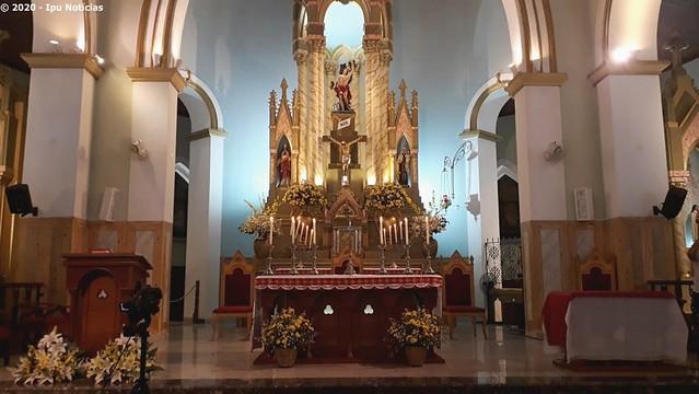 Com forte chuva, alvorada marca o início dos festejos de São Sebastião em Ipu