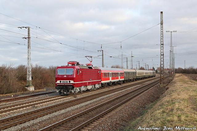 143 002-4 (243 002-3) Traditionsgemeinschaft Bw Halle P Großkorbetha 11.01.2020