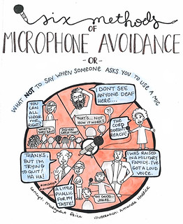 Six Methods of Microphone Avoidance by Margaret Price and Amanda J. Hedrick | by mirrormargaret