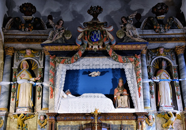 La vierge couchée