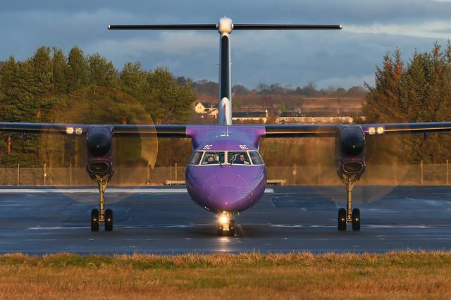 G-FLBC DHC-8-402 EGPH 21-12-19