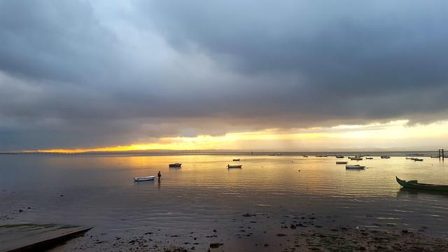 Taking the boat, Alcochete, Portugal