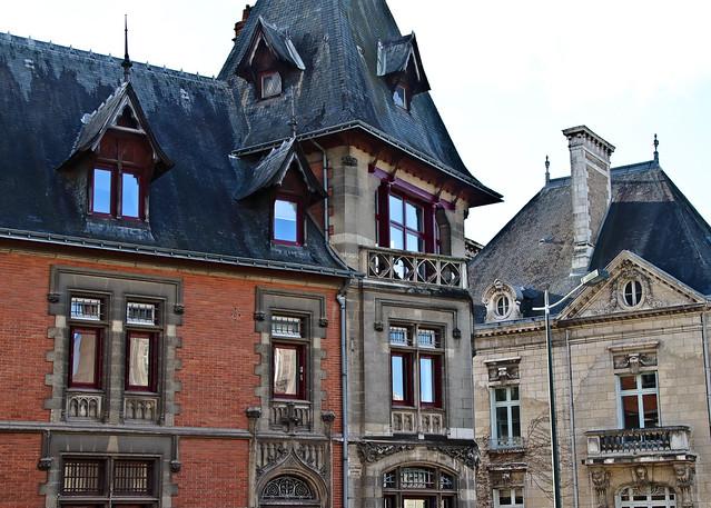 Maison style gothique