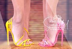 "Phedora. for The Saturday Sale - ""Sandel"" heels ♥"
