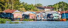2019 - Vietnam-Avalon-Châu Đốc - 6 - Bassac River Floating HOmes