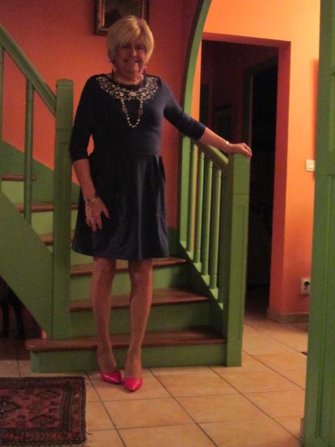 Red heels again