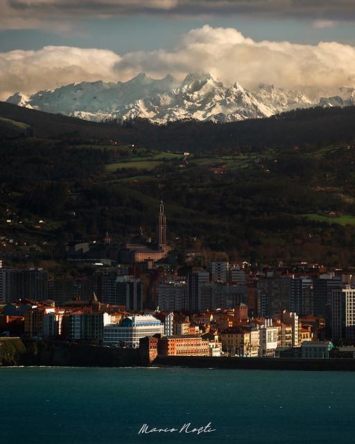 Gijón y Picos de Europa