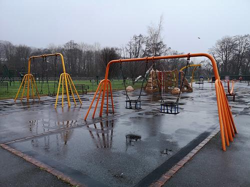 Wet playground