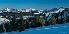 Panorama sur les préalpes depuis la Berra (Switzerland)
