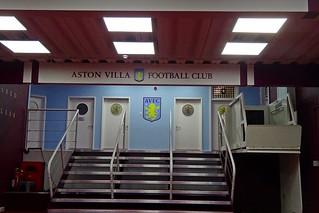 Villa Park-Players Tunnel