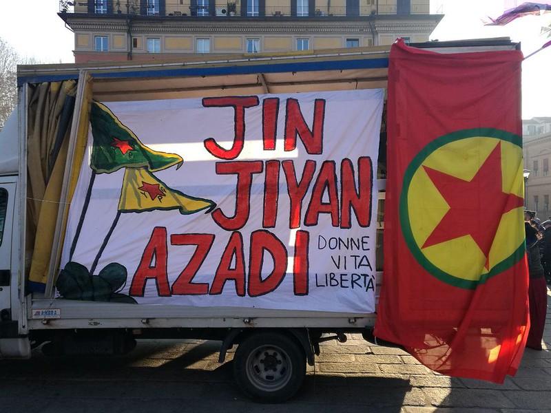 Con le rivoluzionarie del Rojava