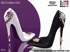 Hilly Haalan - Alba Embellished Heels
