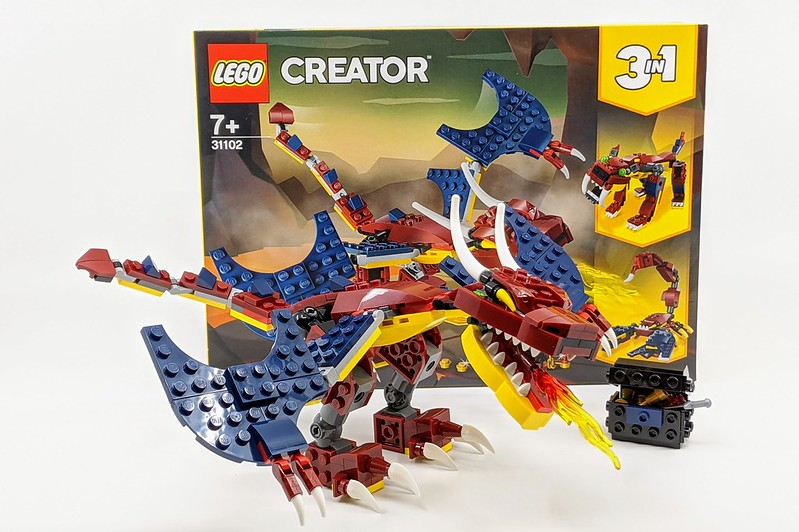 31102: Fire Dragon Creator 3-in-1 Review