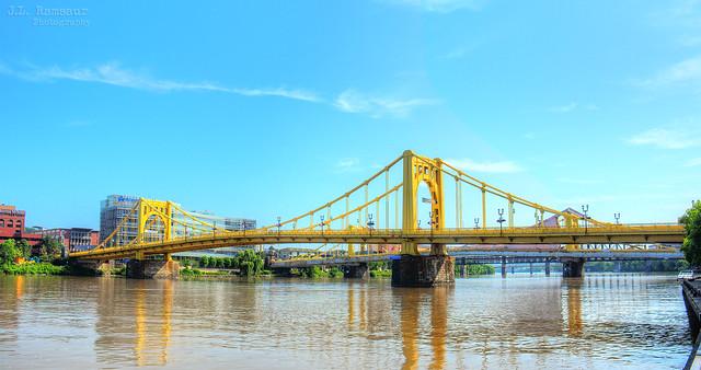 Andy Warhol Bridge - Pittsburgh, Pennsylvania