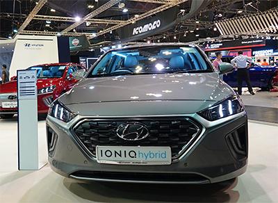 Newly enhanced IONIQ Hybrid with refreshed design.
