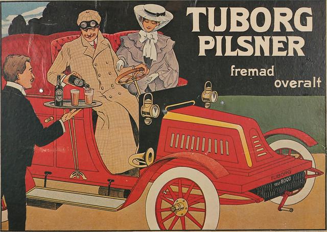 Tuborg-Pilsener-driving