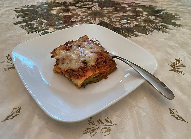 Homemade Lasagna (Meatless)