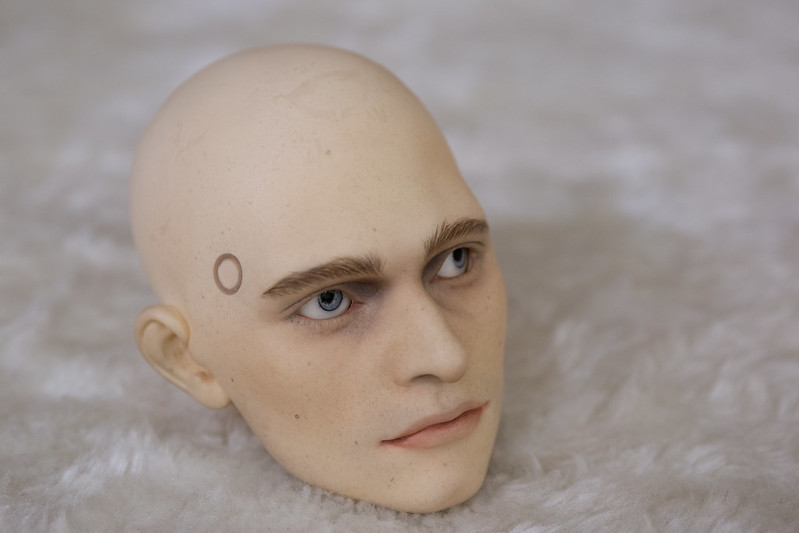 FOR SALE DS Doll Ferret head (1) 190 $   8