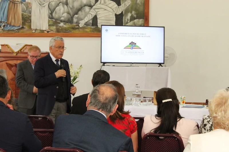 Reunión pro Conferencia en Anexo Caracoles, IMPCH Santa Ana de Queri