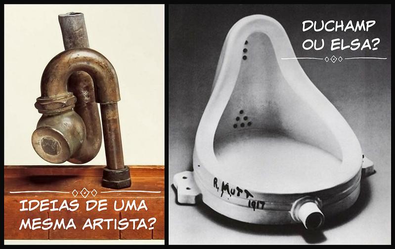 Isso é arte? - A Fonte - Duchamp ou Elsa?