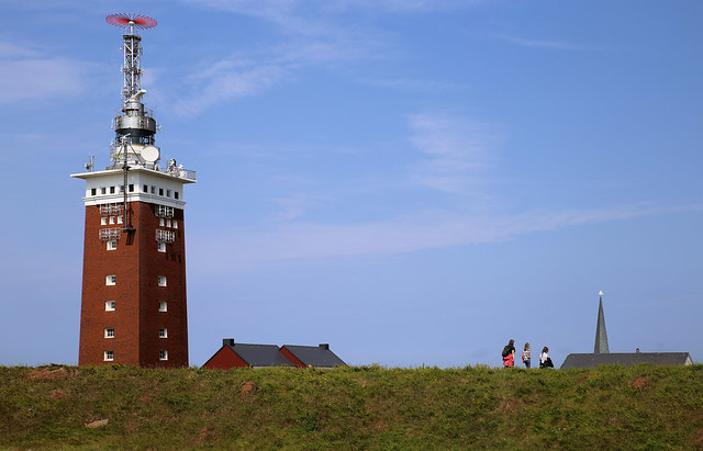 Hiking on the Oberland of Helgoland