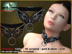 Bliensen - Demoniac - collar - for women