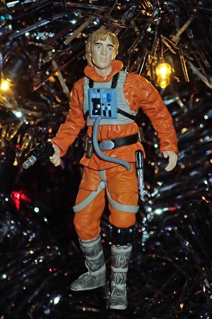 pilot Luke Skywalker ornament