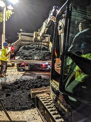 7:00 Water main break update: We are just now finishing-up…