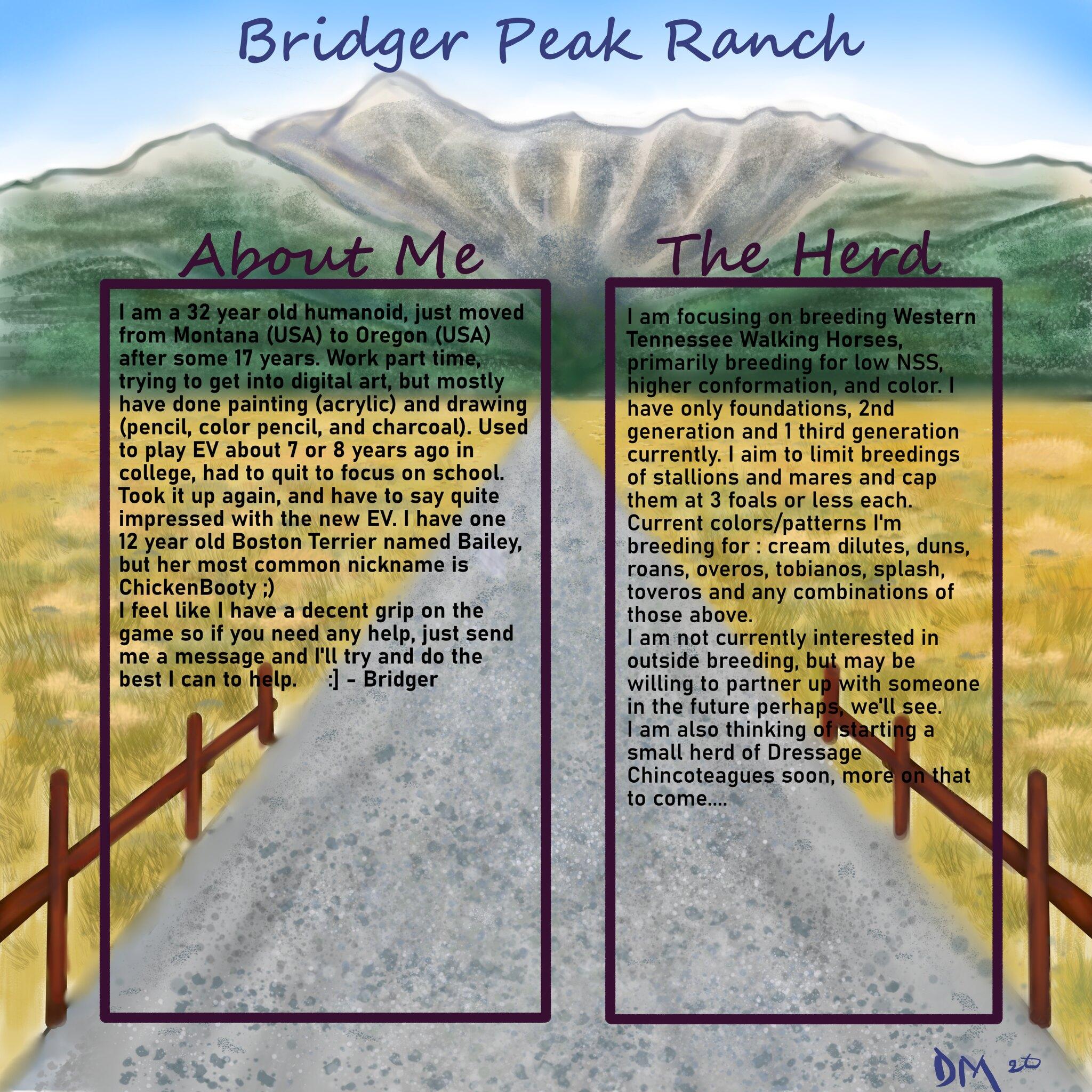 bridger peak ranch layout 1