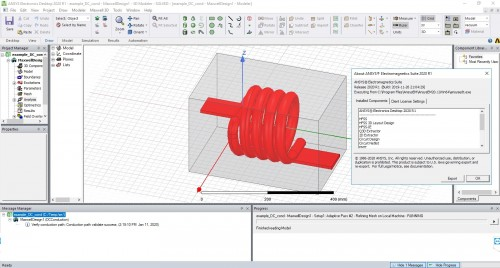 Working with ANSYS Electronics Suite 2020 R1 full license
