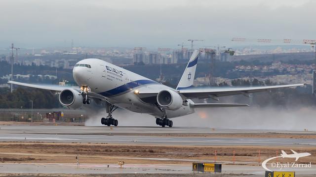 TLV - El Al Boeing 777-200 4X-ECE