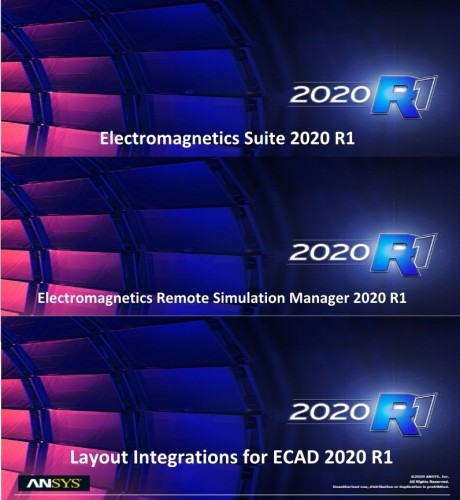 ANSYS Electronics Suite 2020 R1 x64 full