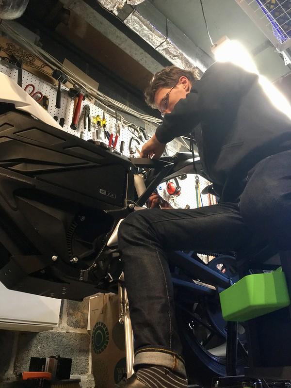 Customizing my motorcycle