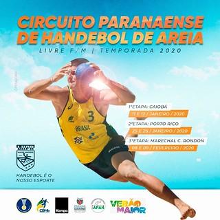 2020 - PR/HANDEBOL DE AREIA/1ª ETAPA