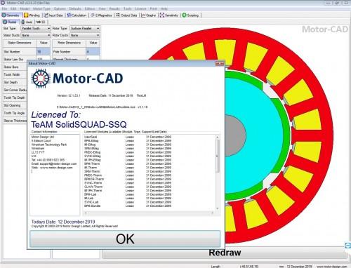 Working with Motor-CAD v12.1.23 full license forever