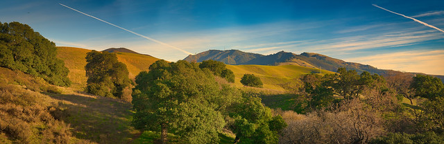 Mt. Diablo Afternoon Panorama
