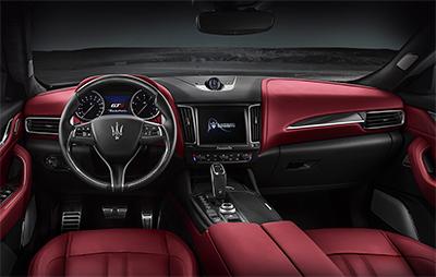 Dashboard of the new Levante GTS. Image courtesy of Tridente Automobili.