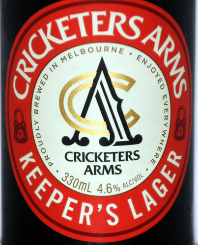 Cricketers Arms Keeper's Lager