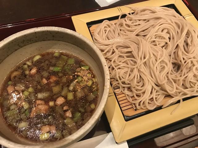 Kamo-Seiro soba noodles