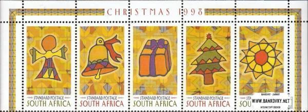Známky Južná Afrika 1998 Vianoce