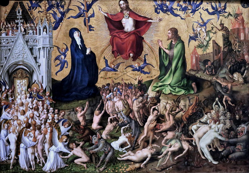 Stefan Lochner - Last Judgement, 1435