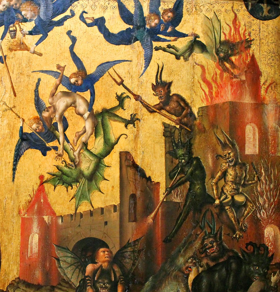 Stefan Lochner - Last Judgement, 1435 (detail10)