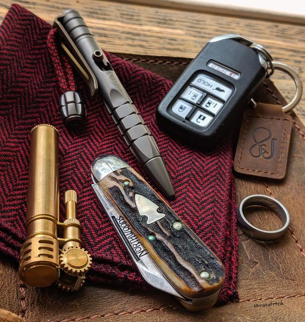 Northwoods Bullet Jack, titanium Minipen