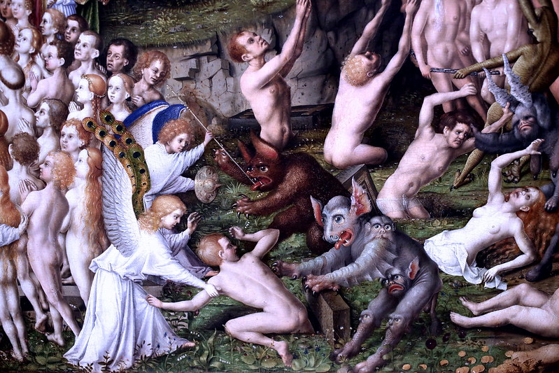 Stefan Lochner - Last Judgement, 1435 (detail2)