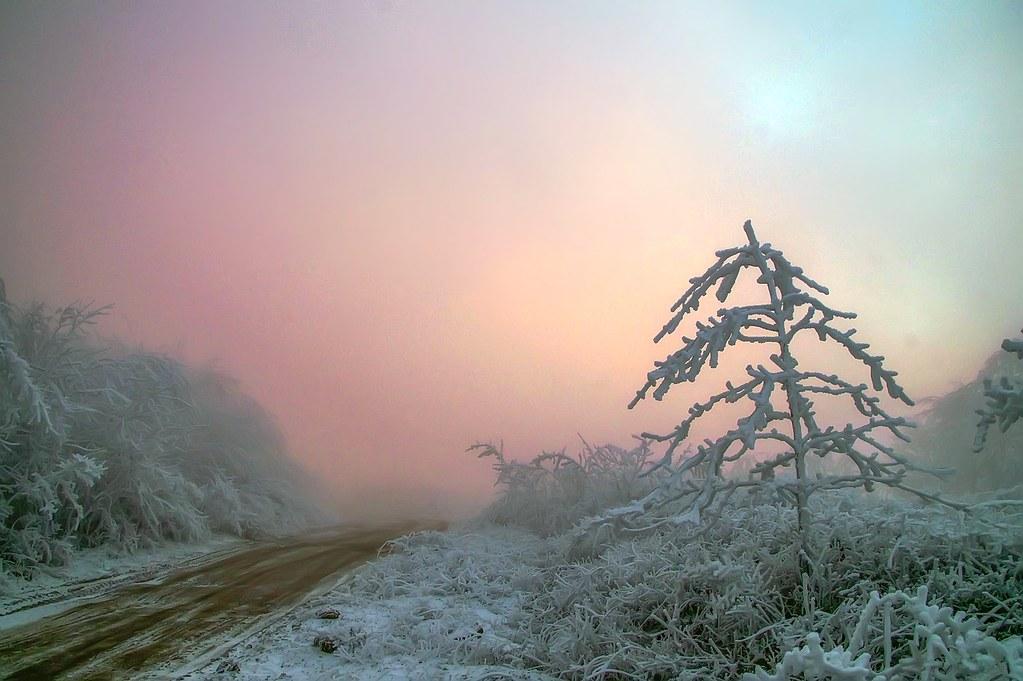 Зимняя сказка на высоте 900 метров. Автор фото: Прокофьев Сергей