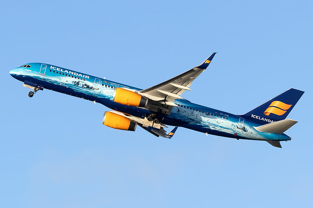 TF-FIR Icelandair Vatnajökull 80 years of Aviation Livery B757-200 Frankfurt Main Airport