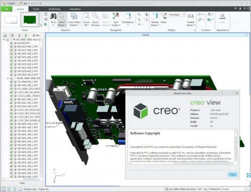 Working with PTC Creo View 6.1.0 full license